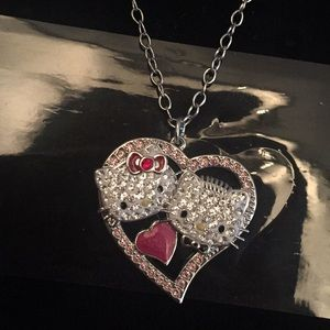 Swarovski Hello Kitty Necklace